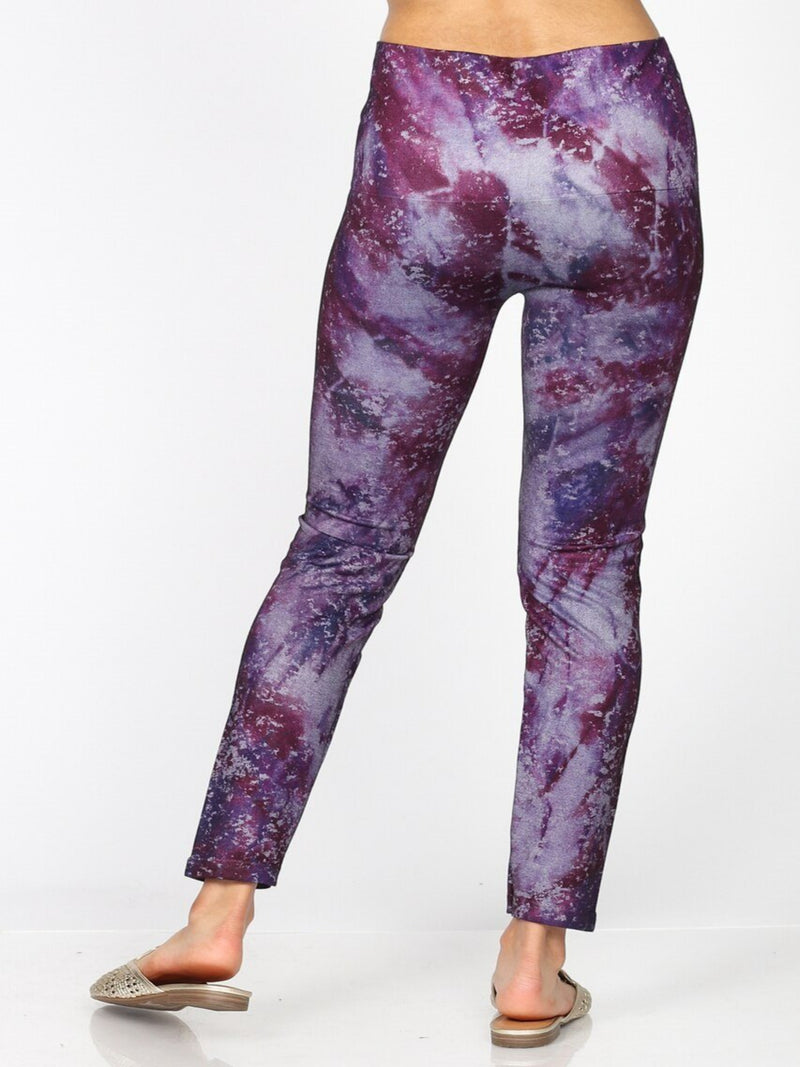 Veronica Tye Dye Leggings Bottoms - The Post Office by Shannon Passero. Fashion Boutique in Thorold, Ontario