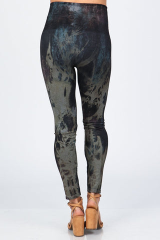 Rustic Acid Wash Legging