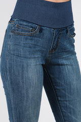Light Wash Jean Legging Bottoms - The Post Office by Shannon Passero. Fashion Boutique in Thorold, Ontario