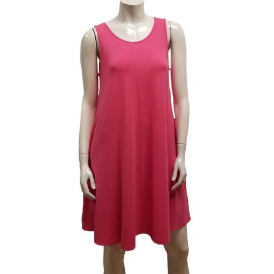Bamboo Sleeveless Pocket Dress