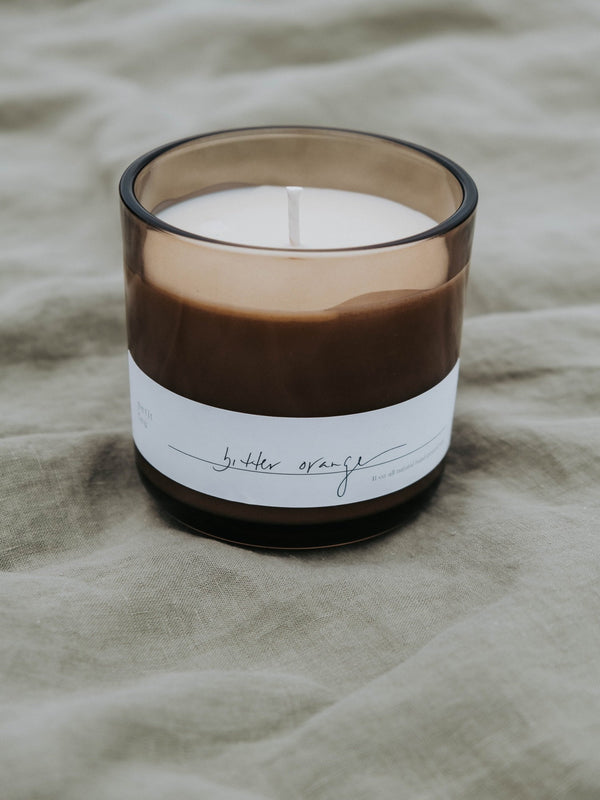 Petit Feu 11oz Candle Cream Consignment Product - The Post Office by Shannon Passero. Fashion Boutique in Thorold, Ontario