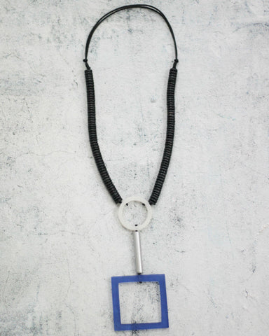 Blue Dominique Pendant Nk