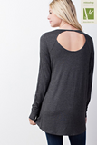 Back Cutout Top