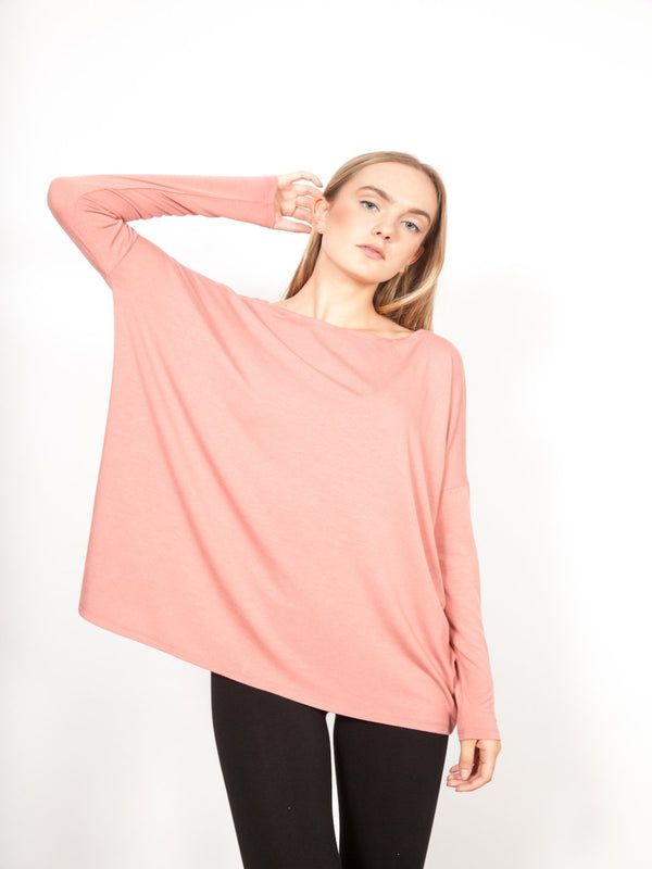 Boatneck Skinny Top Tops - The Post Office by Shannon Passero. Fashion Boutique in Thorold, Ontario