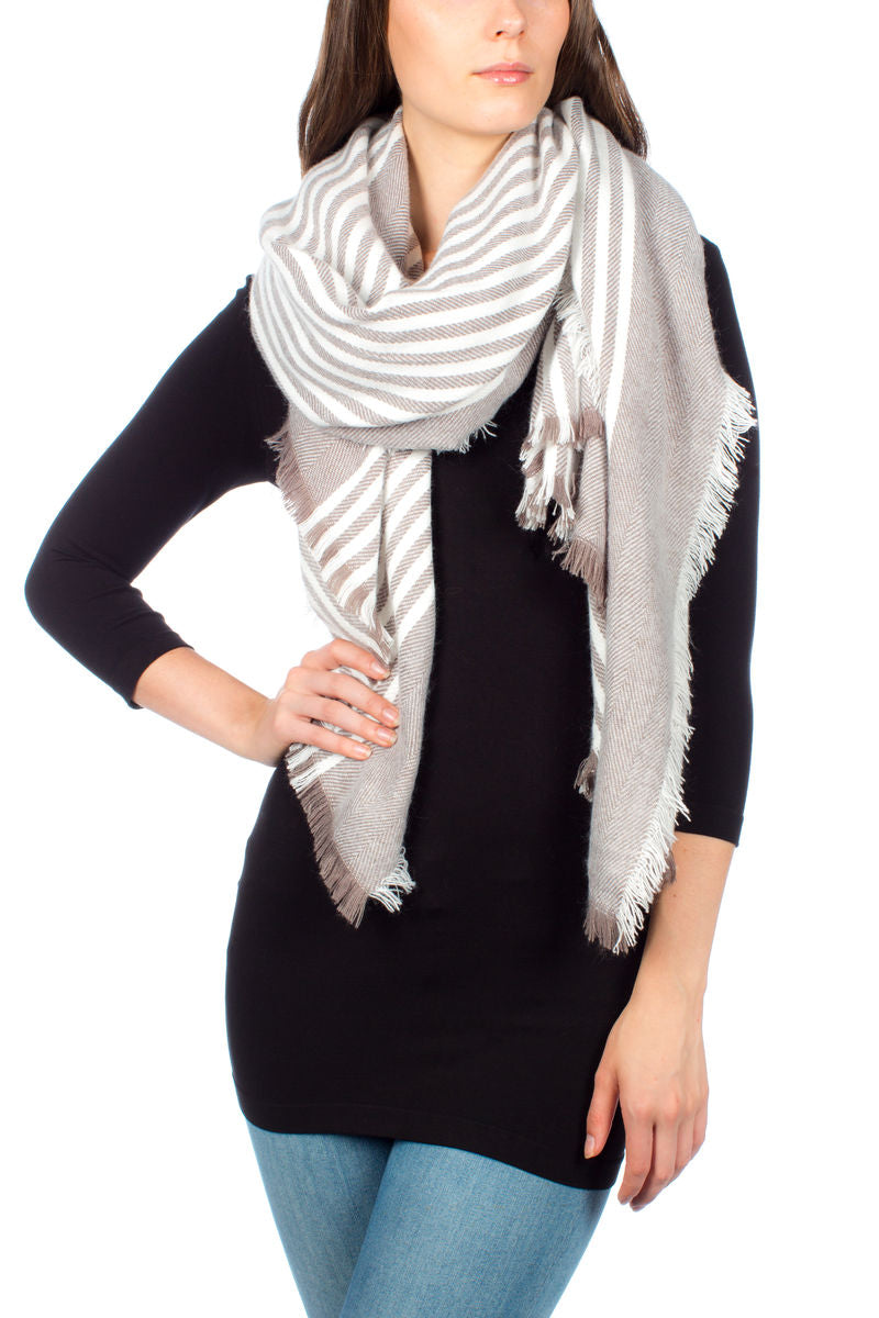 FW Blanket Scarf Accessories - The Post Office by Shannon Passero. Fashion Boutique in Thorold, Ontario