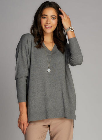 Vneck Long Sleeve w/ Slits