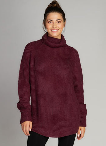 Oversize Turtleneck Sweater Tops - The Post Office by Shannon Passero. Fashion Boutique in Thorold, Ontario