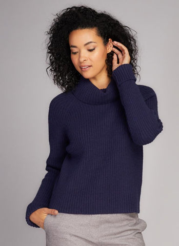Knit Cowlneck Sweater
