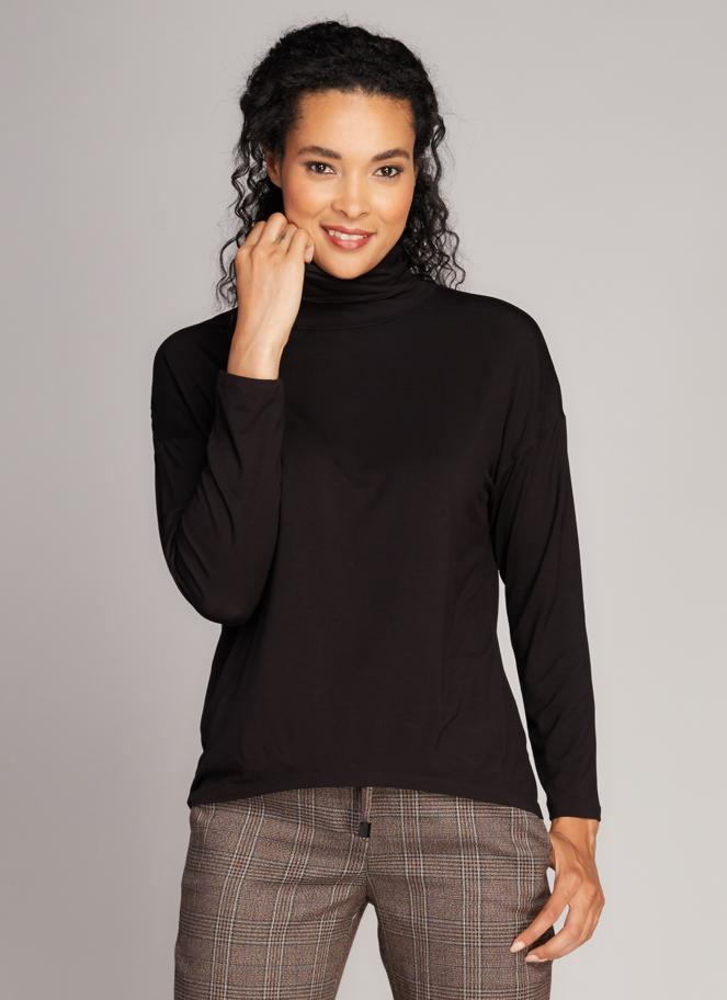 Bamboo Long Sleeve Turtleneck Tops - The Post Office by Shannon Passero. Fashion Boutique in Thorold, Ontario
