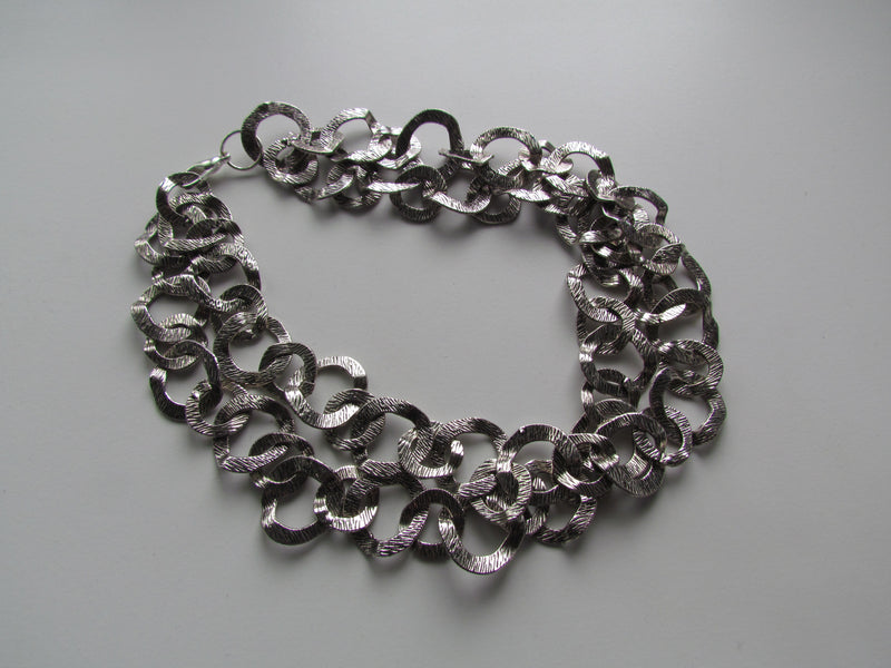 Cleopatra Silver Necklace Consignment Product - The Post Office by Shannon Passero. Fashion Boutique in Thorold, Ontario