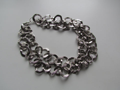 Cleopatra Silver Necklace
