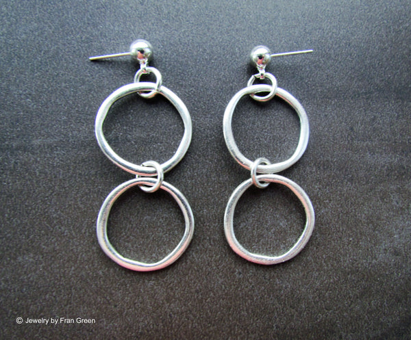 Duet Earrings Consignment Product - The Post Office by Shannon Passero. Fashion Boutique in Thorold, Ontario