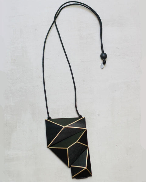 Geometric Statement Necklace Sylca Designs Canada