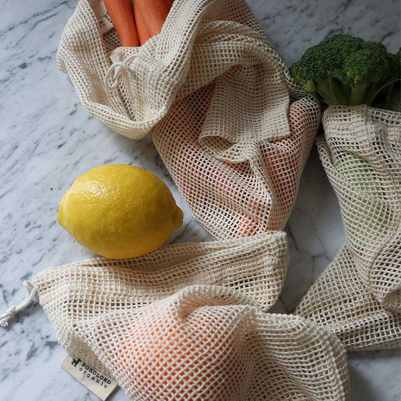 "Organic Mesh Eco Bag - 12x15"" Consignment Product - The Post Office by Shannon Passero. Fashion Boutique in Thorold, Ontario"