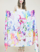 Museum Print Kimonos Coverups - The Post Office by Shannon Passero. Fashion Boutique in Thorold, Ontario