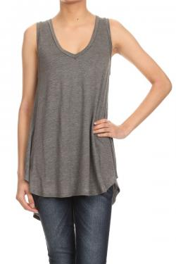 Hi-Lo Vneck Tank Tops - The Post Office by Shannon Passero. Fashion Boutique in Thorold, Ontario