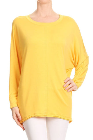 French Terry Spandex Dolman