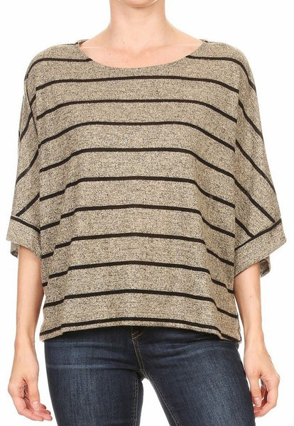 Striped Oversize Top Freeloader Canada