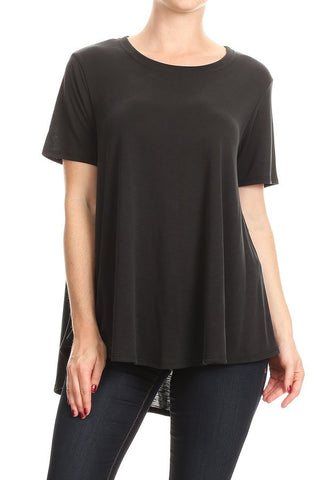 Modal Slub Swing Top