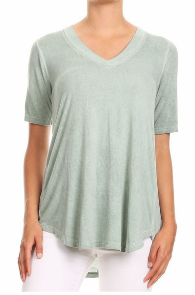 Vneck Short Sleeve Top Freeloader Canada