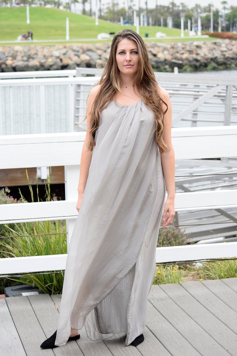 Silk Dress Dresses - The Post Office by Shannon Passero. Fashion Boutique in Thorold, Ontario