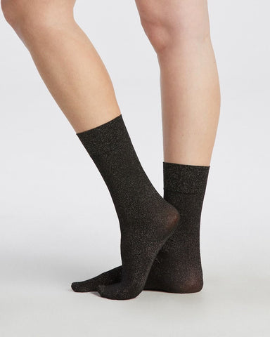 Gold Shimmer Opaque Socks Spanx Canada