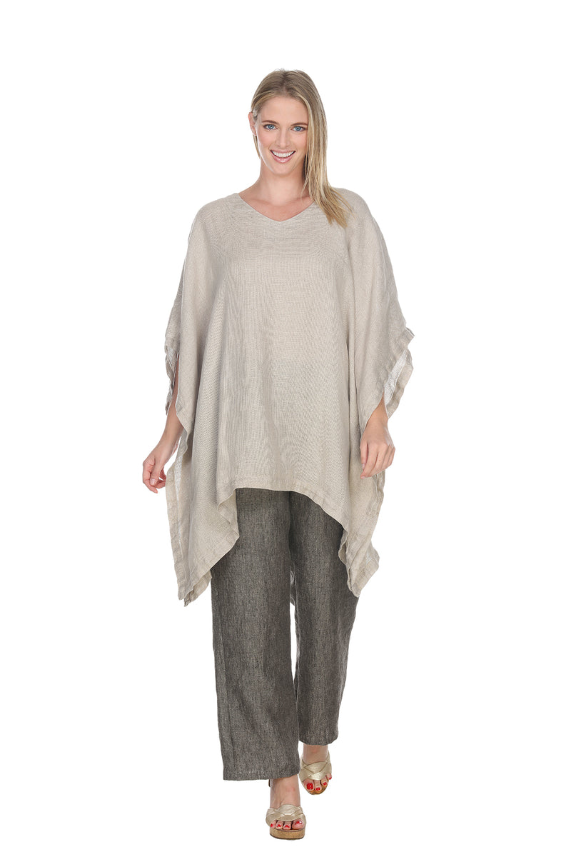 Linen Crop Pant Linen - The Post Office by Shannon Passero. Fashion Boutique in Thorold, Ontario