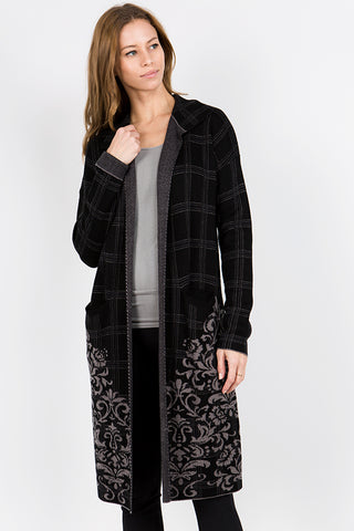 Romantic Jacquard Jacket
