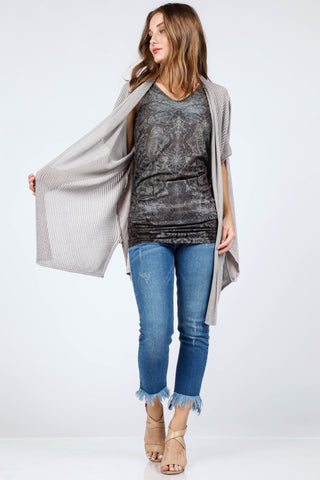 Reversible Vneck Scoop Tunic