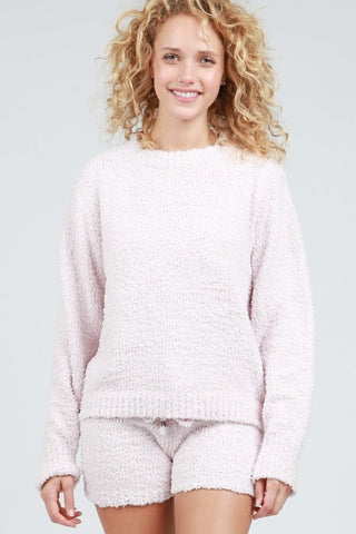 Comfortable Fleece Pullover Sweater by POL Clothing