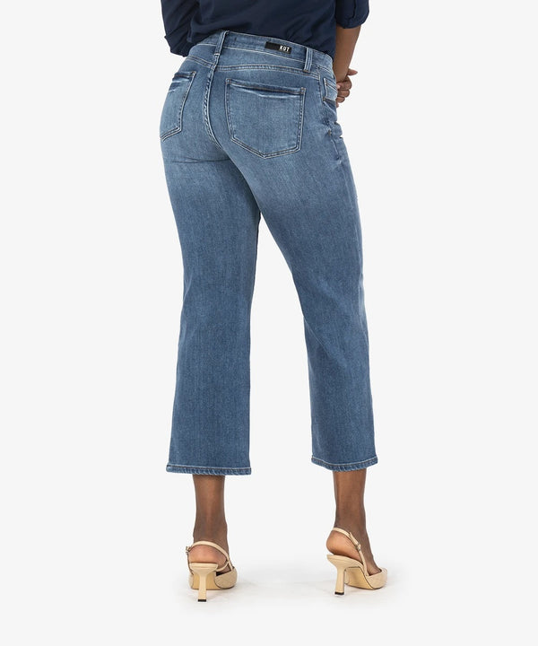 Charlotte High Rise Culotte Denim - The Post Office by Shannon Passero. Fashion Boutique in Thorold, Ontario