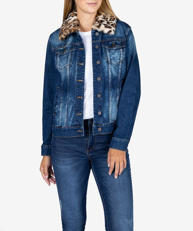 Emma Boyfriend Jacket Denim - The Post Office by Shannon Passero. Fashion Boutique in Thorold, Ontario