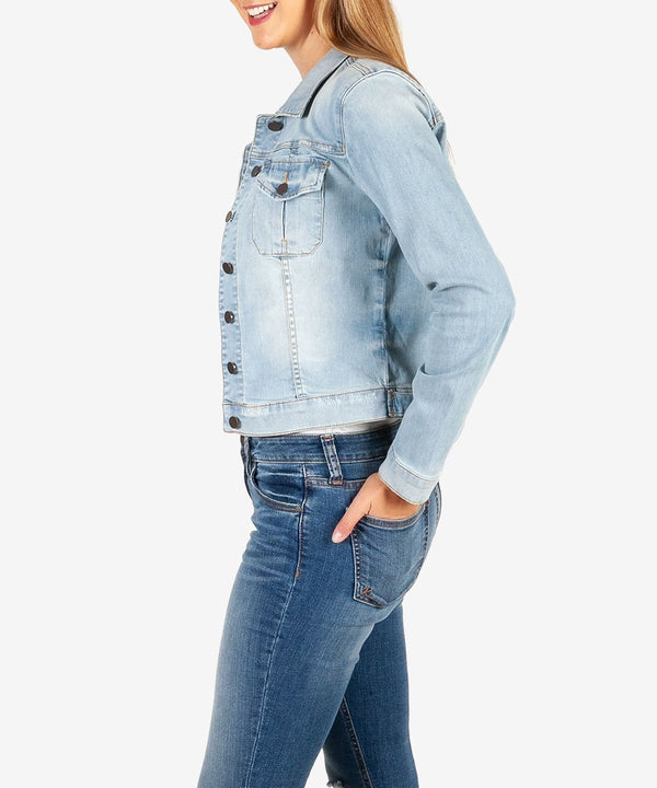 Amelia Jacket Denim - The Post Office by Shannon Passero. Fashion Boutique in Thorold, Ontario