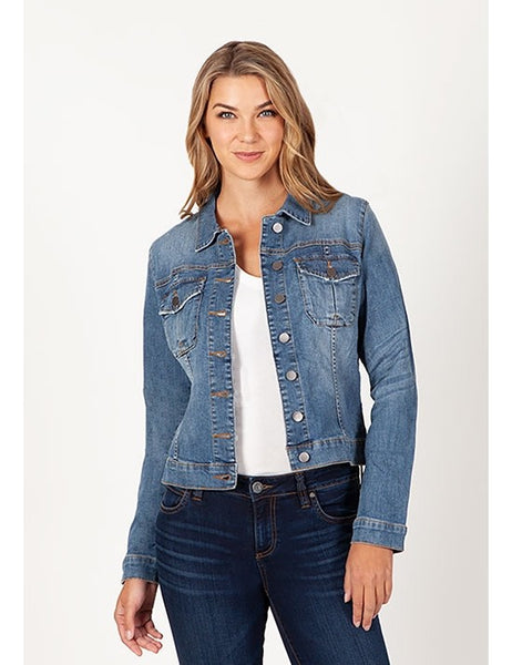 Amelia Denim Jacket Kut Canada