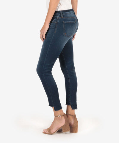 Connie Ankle Skinny w/ Fray