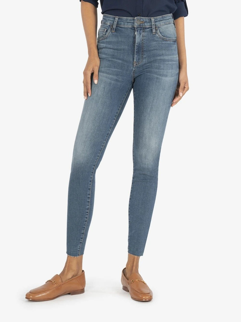 Connie High Rise Ankle Skinny Denim - The Post Office by Shannon Passero. Fashion Boutique in Thorold, Ontario