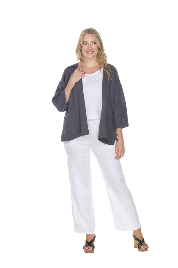 Linen Straight Pant Linen - The Post Office by Shannon Passero. Fashion Boutique in Thorold, Ontario
