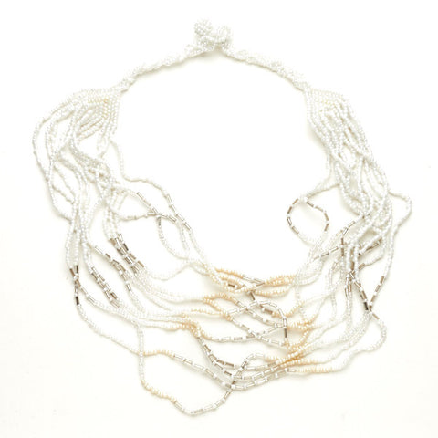 Short Multi Strand Necklace