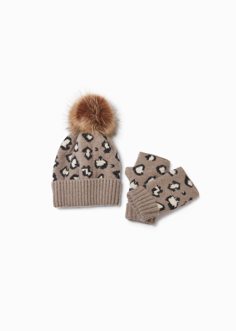 Leopard Print Hat Accessories - The Post Office by Shannon Passero. Fashion Boutique in Thorold, Ontario