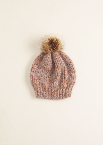 Eyelash Popsicle Pompom Hat