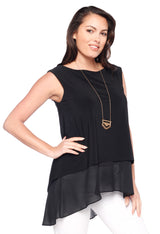 Tank with Chiffon Tops - The Post Office by Shannon Passero. Fashion Boutique in Thorold, Ontario