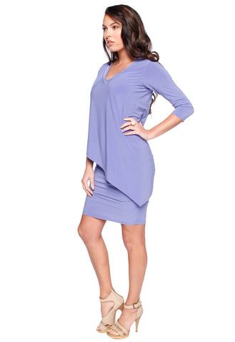 Layered Rouched Vnk Tunic