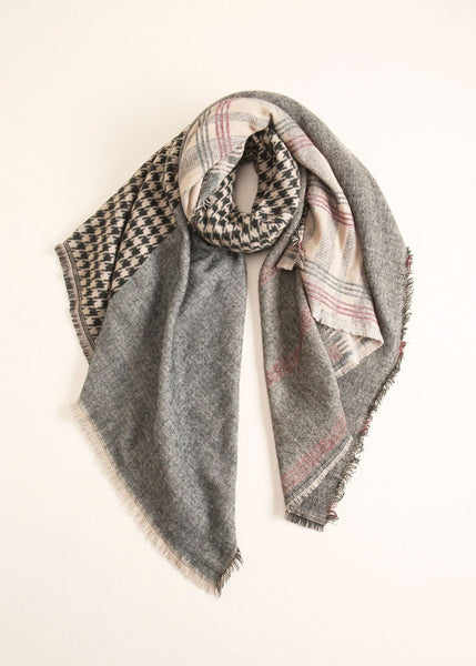Houndstooth Checker Scarf