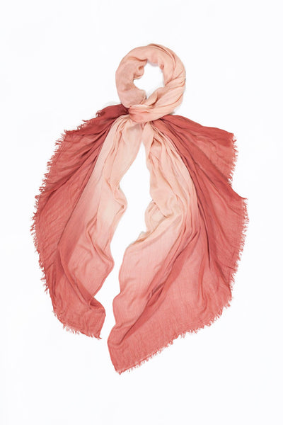 Vintage Tie Dye Cotton Scarf Look by M Canada