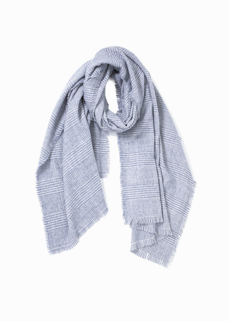 Houndstooth Scarf Accessories - The Post Office by Shannon Passero. Fashion Boutique in Thorold, Ontario