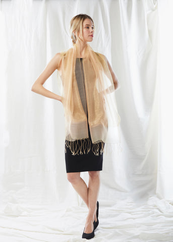 Shimmer Sparkle Layered Scarf