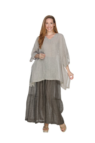 Linen Mesh Kimono Top Match Point Canada