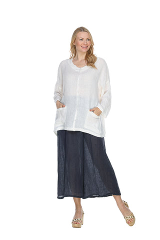 Linen Frayed Edge Box Top Match Point Canada