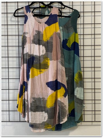 New Abstract Short Dress Dresses - The Post Office by Shannon Passero. Fashion Boutique in Thorold, Ontario