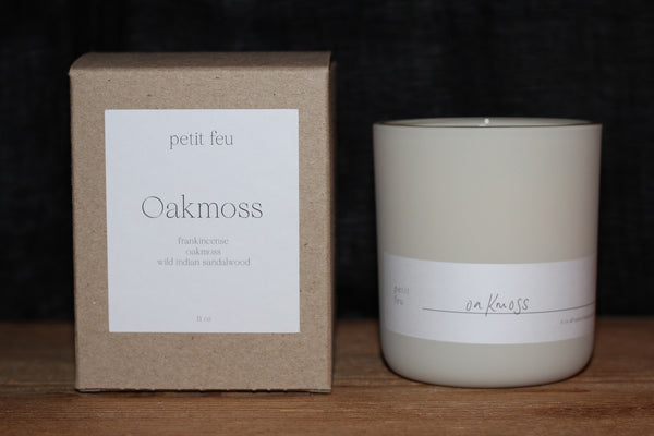 Petit Feu 11oz Candle Green Consignment Product - The Post Office by Shannon Passero. Fashion Boutique in Thorold, Ontario